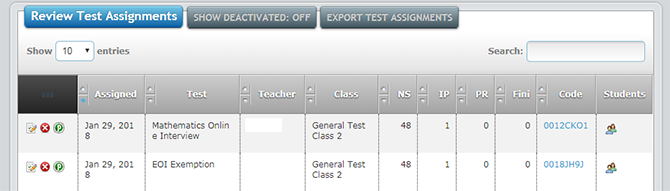 Review Test Assignment screenshot