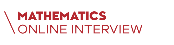 Mathematics Online Interview