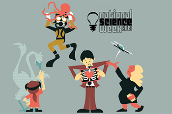 logo for science week