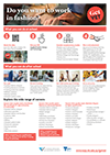 VCE VET Applied Fashion and Technology Career Pathway Poster